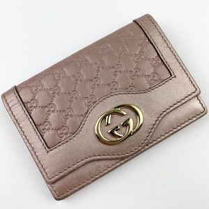 Gucci MicroGuccissima Card Holder